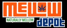 Mello Depot Logo Orange and Blue - naturally mellow